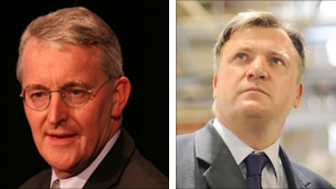 Hilary Benn and Ed Balls