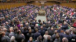 MPs in House of Commons