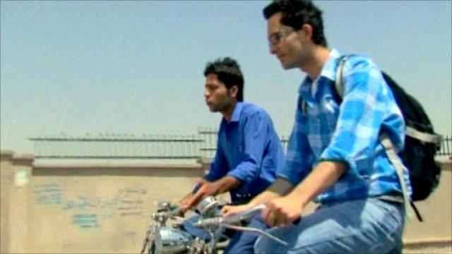 Tahir and postie