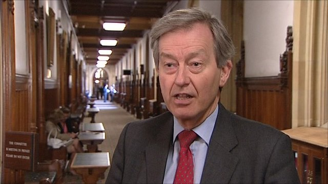 The Chairman of the Health Select Committee, the Conservative MP Stephen Dorrell