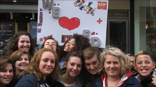 Fans queue to meet Ed Sheeran at HMV in Ipswich