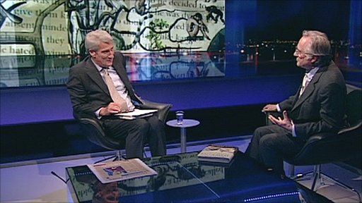 Jeremy Paxman and Richard Dawkins