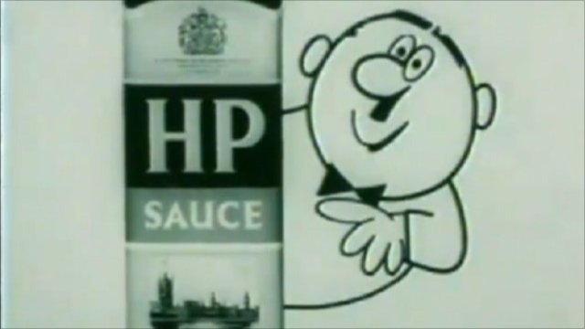 HP sauce archive TV advert