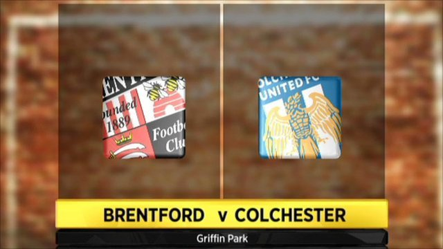 Highlights - Brentford 1-1 Colchester