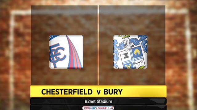 Highlights - Chesterfield 1-0 Bury