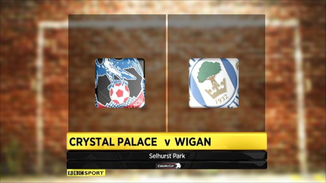 Crystal Palace 2-1 Wigan