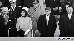 Jackie Kennedy at inauguration
