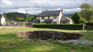 The hole at Rhes-y-cae (pic: Ben Robertson)