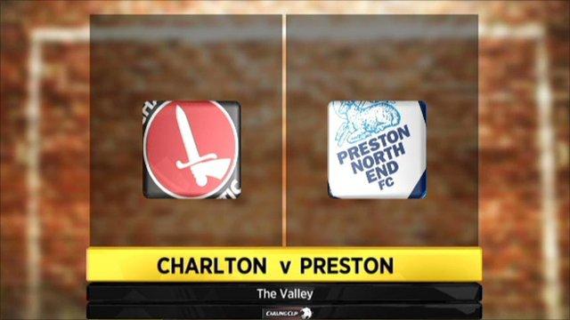 Carling Cup - Charlton 0-2 Preston
