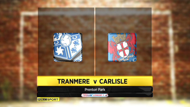 Highlights - Tranmere 1-2 Carlisle