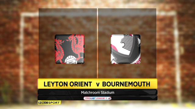 Leyton Orient 1-3 Bournemouth