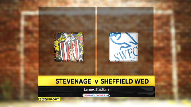 Highlights - Stevenage 5-1 Sheffield Wednesday
