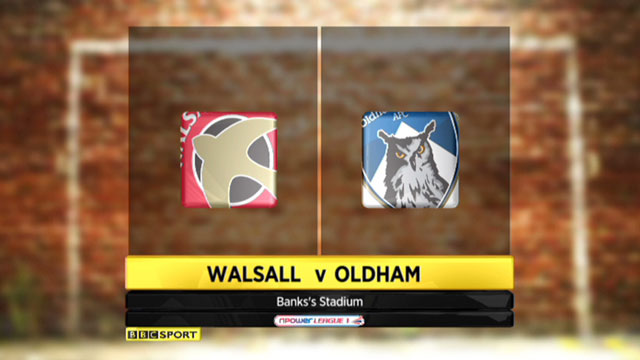 Highlights - Walsall 0-1 Oldham