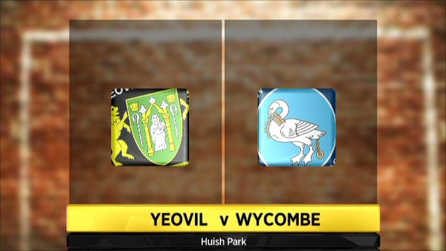 Highlights - Yeovil 1-0 Wycombe