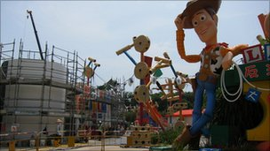 Hong Kong Disneyland's new Toy Story attraction