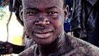Boroma Kangara takes a rest