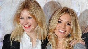 Savannah and Sienna Miller
