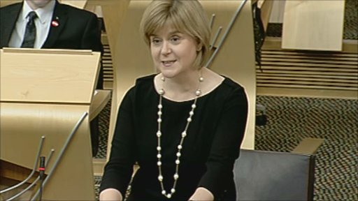 Health Secretary Nicola Sturgeon gives a statement on care for the elderly