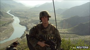 Sgt Dakota Meyer in Kunar, Afghanistan