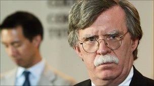 John Bolton (file pic)