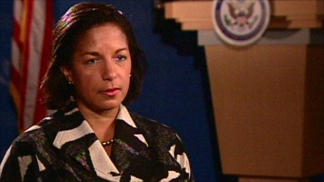 US ambassador to the UN Susan Rice