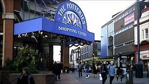 Potteries Shopping Centre
