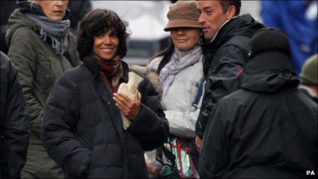 Halle Berry in Glasgow
