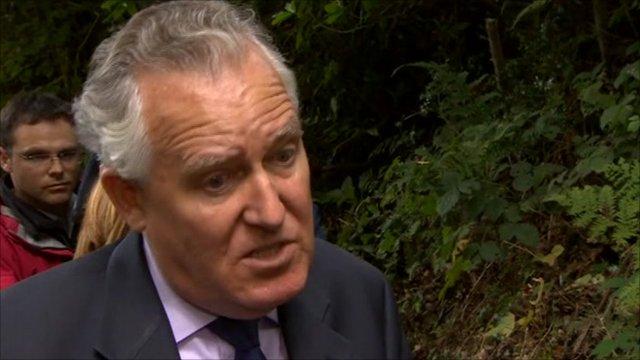 Shadow Welsh secretary Peter Hain