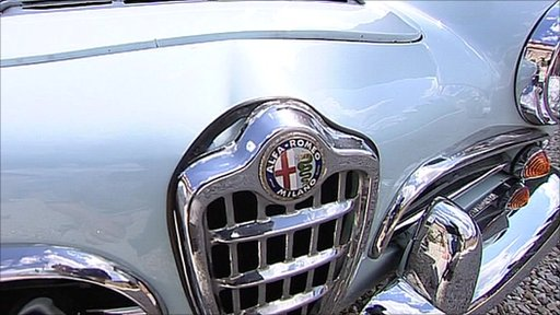 Alfa Romeo vintage car