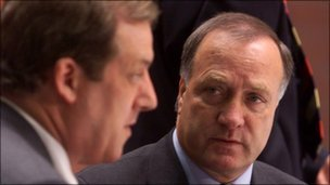 David Murray and Dick Advocaat