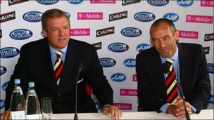 David Murray and Paul Le Guen