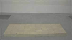 Carl Andre's Equivalent VIII sculpture