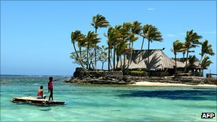 Resort on Fiji's Coral Coast