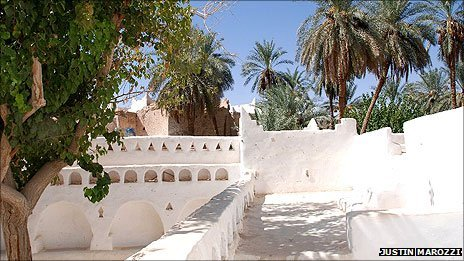 The Old Town in Ghadames