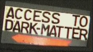 Access to dark matter - a sign inside Boulby Potash mine