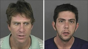 Robert Young (left) and Mark Rubinson (Pic: Denver Police)