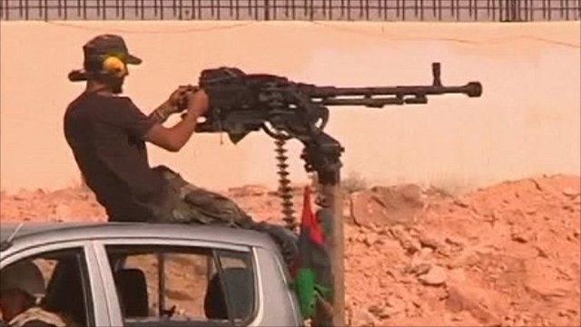 Anti-Gaddafi forces