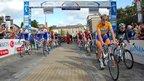 Tour of Britain 2011 in Bury St Edmunds, Suffolk