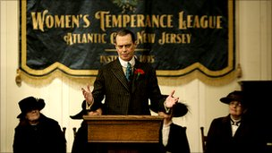Steve Buscemi, whose films include Reservoir Dogs and Fargo, takes the lead role in Boardwalk Empire