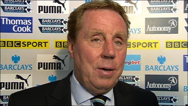 Tottenham boss Harry Redknapp
