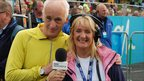 Terry Deary with Sue Sweeney