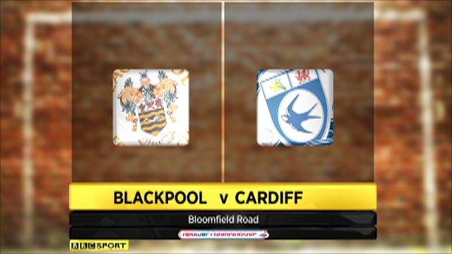 Blackpool 1-1 Cardiff