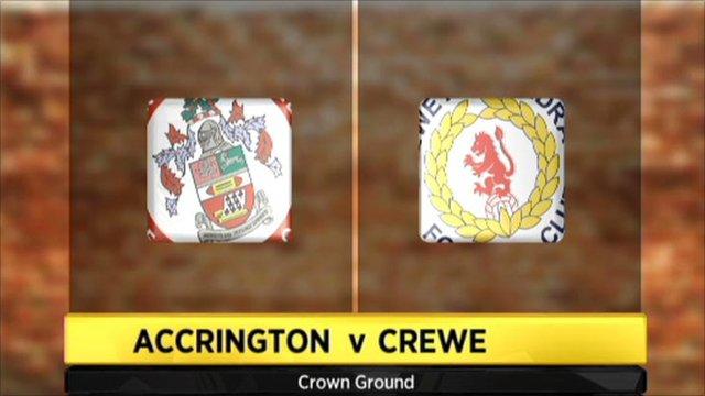 Accrington Stanley 0-2 Crewe