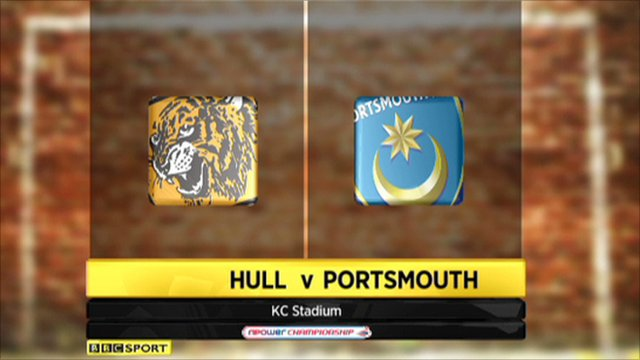 Hull 1-0 Portsmouth