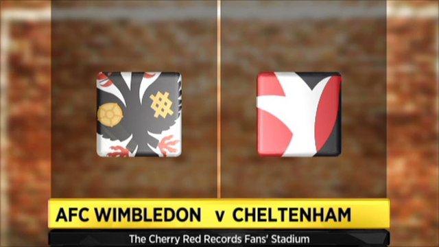 AFC Wimbledon 4-1 Cheltenham