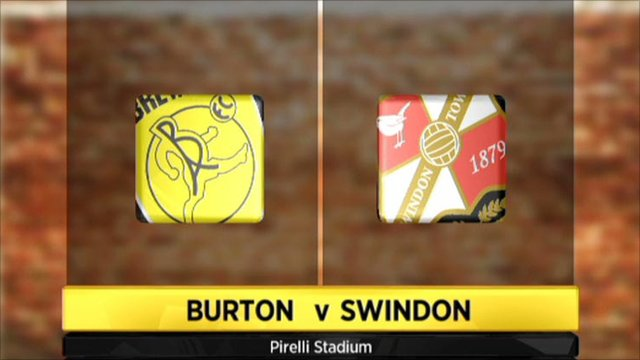 Burton Albion 2-0 Swindon