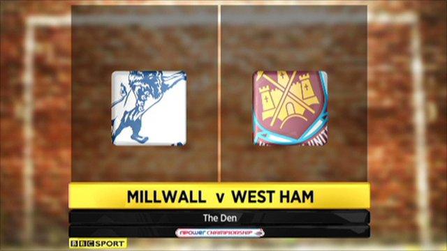 Millwall 0-0 West Ham
