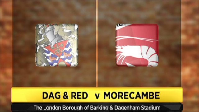 Dag and Red 1-2 Morecambe