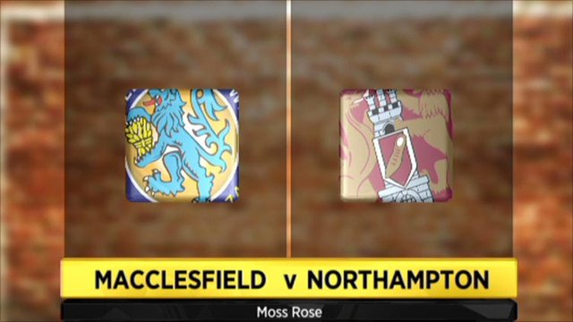 Macclesfield 3-1 Northampton