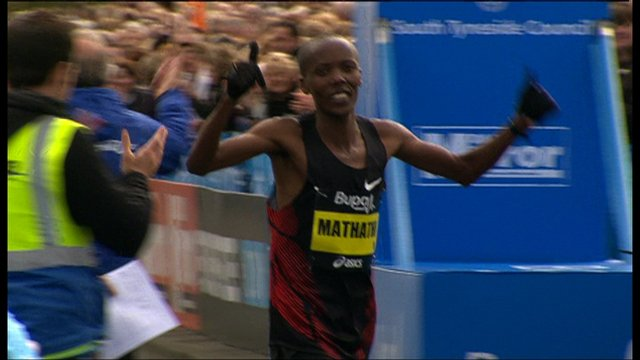 Martin Mathathi - Great North Run winner